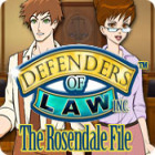 Defenders of Law: The Rosendale File igra