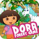 Dora. Forest Game igra