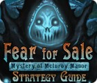 Fear For Sale: Mystery of McInroy Manor Strategy Guide igra