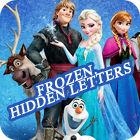 Frozen. Hidden Letters igra