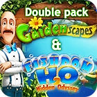 Gardenscapes & Fishdom H20 Double Pack igra