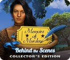 Memoirs of Murder: Behind the Scenes Collector's Edition igra