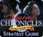 Mystery Chronicles: Betrayals of Love Strategy Guide igra