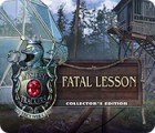 Mystery Trackers: Fatal Lesson Collector's Edition igra