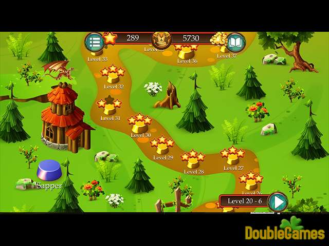 Free Download Time Twins Mosaics Tales of Avalon Screenshot 2